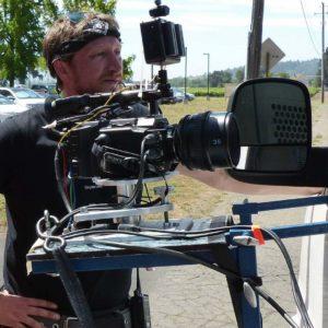 James and camera