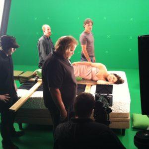 sleep train studio shoot
